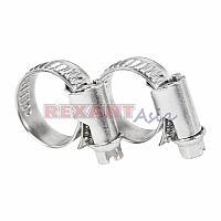 Хомут-стяжка кабельная стальная червячная REXANT 10-16 мм, упаковка 50 шт., (07-0610 )