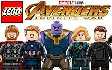Конструктор Мстители Super Heroes