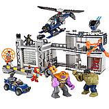 Конструктор BELA Super Escort Битва на базе Мстителей 11262 (Аналог LEGO Super Heroes 76131) 723 дет, фото 3
