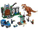 "Конструктор SY 1082 Bela 10920 ""Побег Ти-Рекса"" 298 деталей (Аналог лего Lego Jurassic World 10758), фото 2"