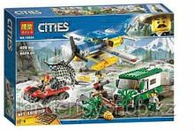 Конструктор аналог лего lego Ограбление у горной речки BELA 10864 LEGO 60175