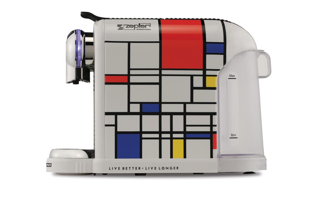 Кофе-машина Zepresso Mondrian , кофе-капсулы , чай-капсулы