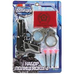 """IV. Набор игрушечного оружия полиции """"Пистолет с присосками"""""""