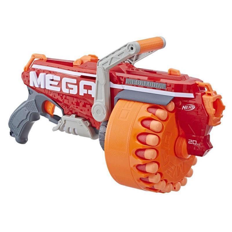Нёрф бластер мегалодон Nerf Mega Megalodon