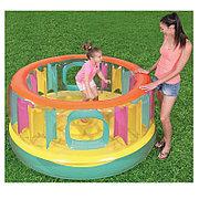 Детский надувной батут круглый 180х86 см Bestway 52262