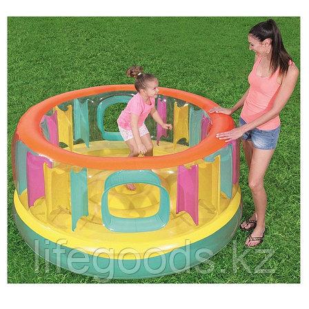 Детский надувной батут круглый 180х86 см Bestway 52262, фото 2