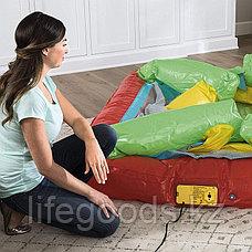 Детский надувной батут с насосом и шариками, Bestway 93532, фото 2