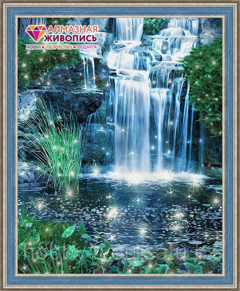 """Картина стразами """"Искрящийся водопад"""", 40*50см"""