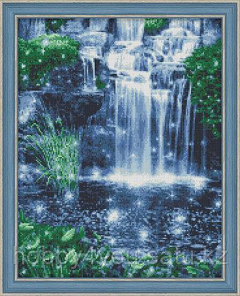 "Картина стразами ""Искрящийся водопад"", 40*50см, фото 2"