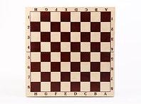 Шахматы турнирные лакированные в комплекте с доской., фото 1