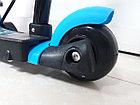 Самокат Scooter для детей с родительской ручкой и сидением, фото 3