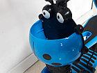 Самокат Scooter для детей с родительской ручкой и сидением, фото 7