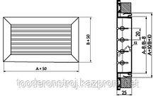 Вентиляционная решетка RAG (не регулируемая)  200*200