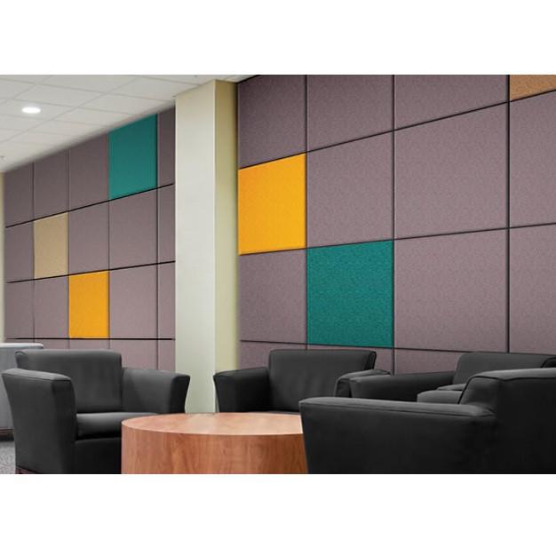 Акустические панели пожаробезопасные 600х600х40 Color