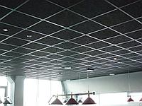 Акустические панели пожаробезопасные 600х600х50 Black, фото 1
