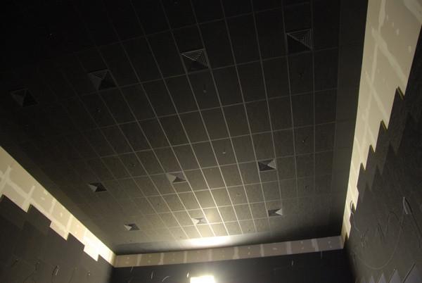 Акустические панели пожаробезопасные 1200х600х40 Black