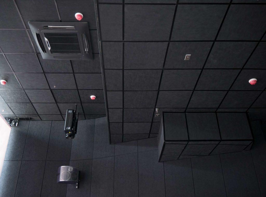 Акустические панели пожаробезопасные 600х600х20 Black