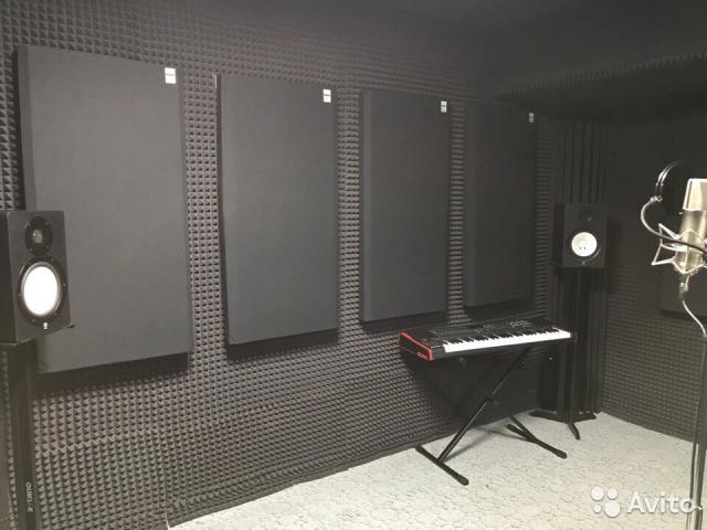 Акустические панели пожаробезопасные 1200х600х30 Black