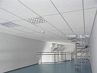 Акустические панели пожаробезопасные 2400х1200х40 White, фото 1