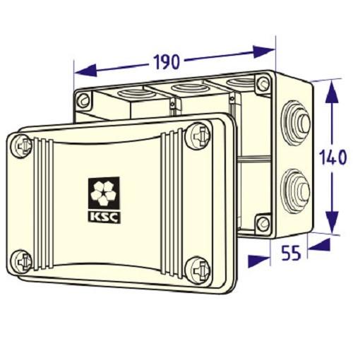 KSS 11-308 А Распред. коробка.