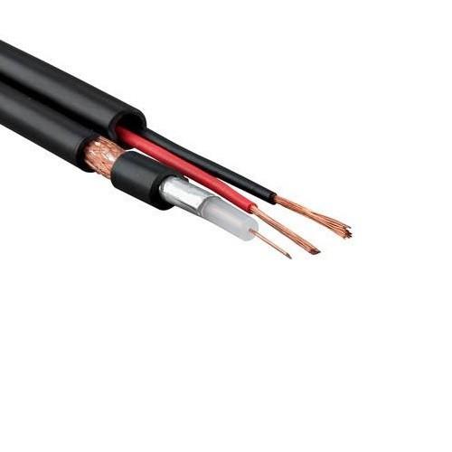 MSB-004 RG58+2*0,5 - CCA PVC 200 m (омедненный экран)