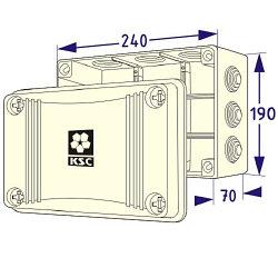 KSS 11-309 Распред. коробка.