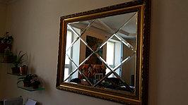 Изготовление и отделка зеркал и зеркальных панно для интерьера Вашего дома, оформление зеркалами танцевальных студий и фитнес-центров и прочих коммерческих помещений.
