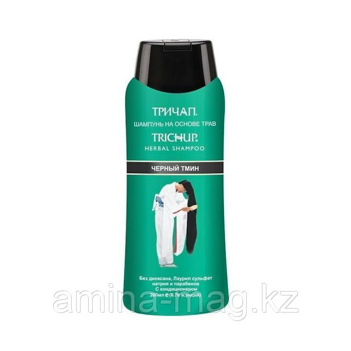 Шампунь Тричап с черным тмином (Trichap herbal shampoo)