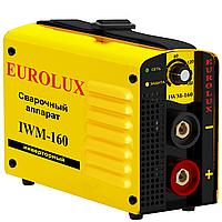 Инверторный сварочный аппарат Eurolux IWM-160.