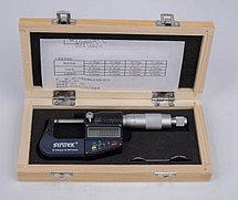 Микрометр электронный цифровой 0-25мм, 0.001 мм точность, DSWQ0-100II, фото 3