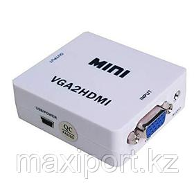 Конвертeр VGA на HDMI видео аудио конвертер VGA на HDMI 1080P
