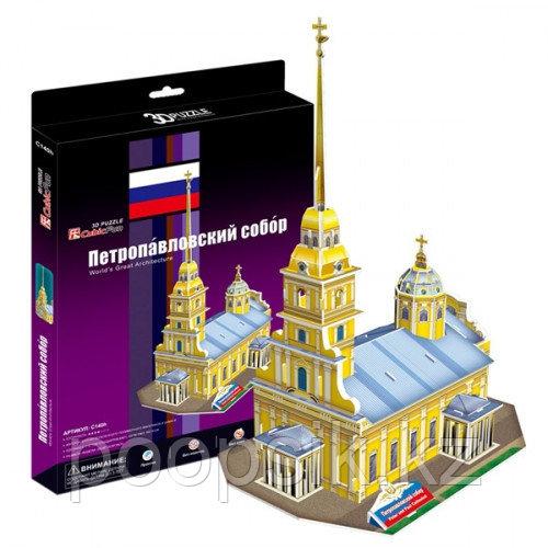 Петропавловский собор (Россия) 3D пазл Кубик фан