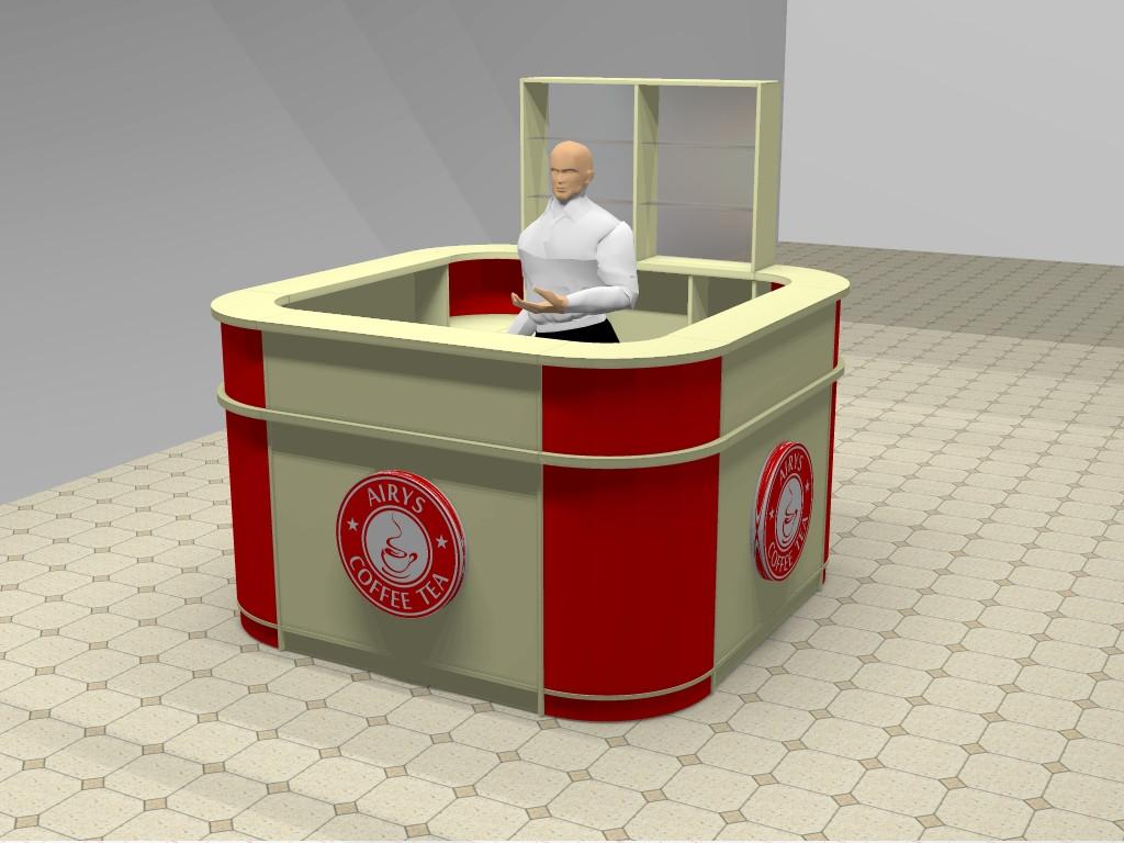 Стол для промо акций, витрины на заказ