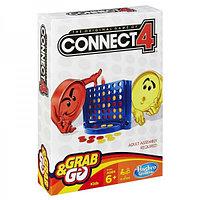 Собери 4 Дорожная игра Hasbro Games