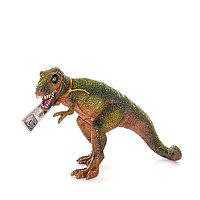 Игрушка фигурка динозавра, Тираннозаврс двигающейся пастью в асс 7*11*19 см