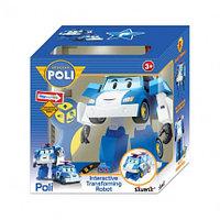 Робот-трансформер Поли на радиоуправлении. Управляется в форме робота и машины