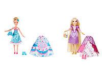 Модная кукла в платье со сменными юбками в ассортименте
