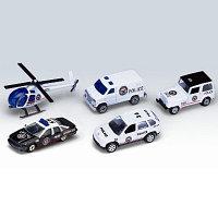 """Игровой набор """"Полицейская команда"""" 5 шт в наборе"""