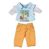 Стильная одежда для куклы мальчика Baby born