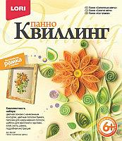 """Квиллинг панно """"Солнечные цветы"""""""