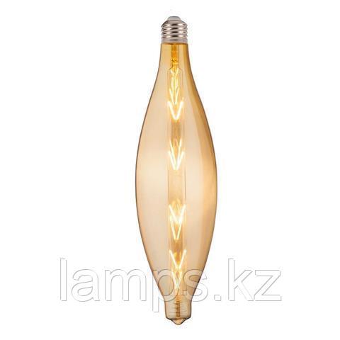 Светодиодная лампа ELLIPTIC 8W Янтарь E27 220-240V LED FLMN