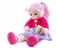 Кукла Земляничка с двумя косичками, 40 см