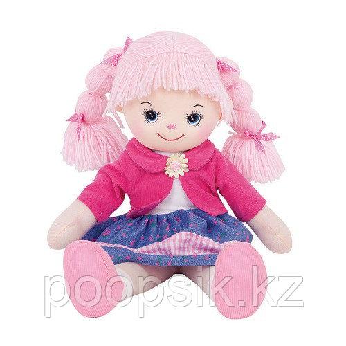 Кукла Земляничка с двумя косичками, 40 см - фото 2
