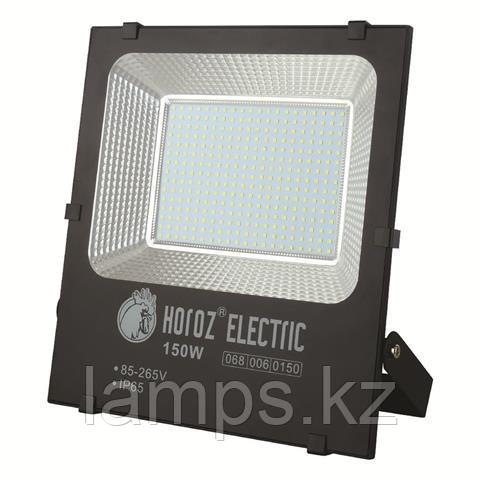 Прожектор герметичный светодиодный LEOPAR-150 150W Черный 6400K 85-265V LED PROJ.