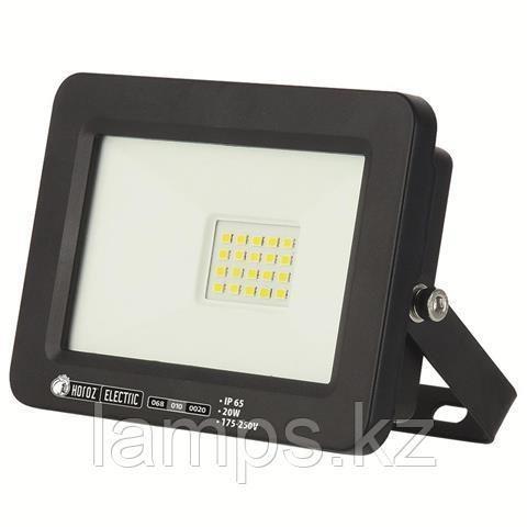 Прожектор герметичный светодиодный ASLAN-20 20W Черный 6400K 175-250V LED PROJ.