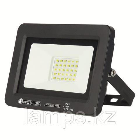 Прожектор герметичный светодиодный ASLAN-30 30W Черный 6400K 175-250V LED PROJ.