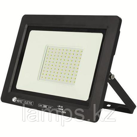 Прожектор герметичный светодиодный ASLAN-100 100W Черный 6400K 175-250V LED PROJ., фото 2