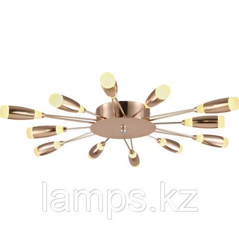Люстра подвесная светодиодная FAVORİ 62W Медь 4000K 220-240V L.SUSPENSION