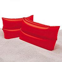 Intex Нарукавники Красные для плавания 25Х17См 6-12Лет, Упак.36, фото 1
