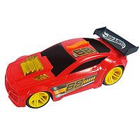 Машинка Blaze n` Burnout на батарейках свет+звук, красная